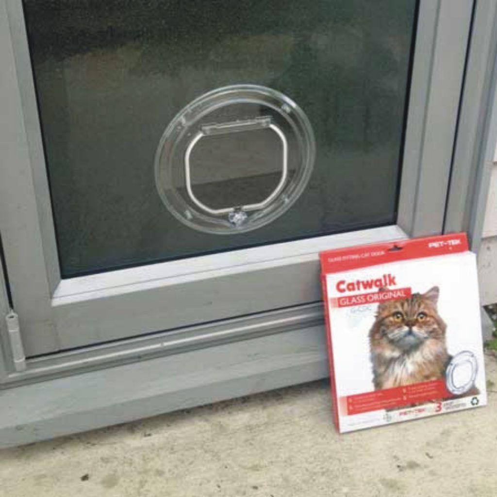 Catwalk 245 Pic Cat Door Pet Doors Glass