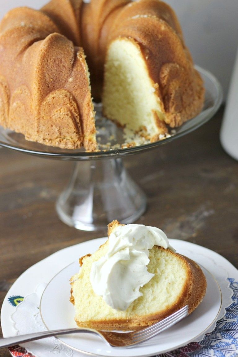Perfect Pound Cake | Once A Month Meals