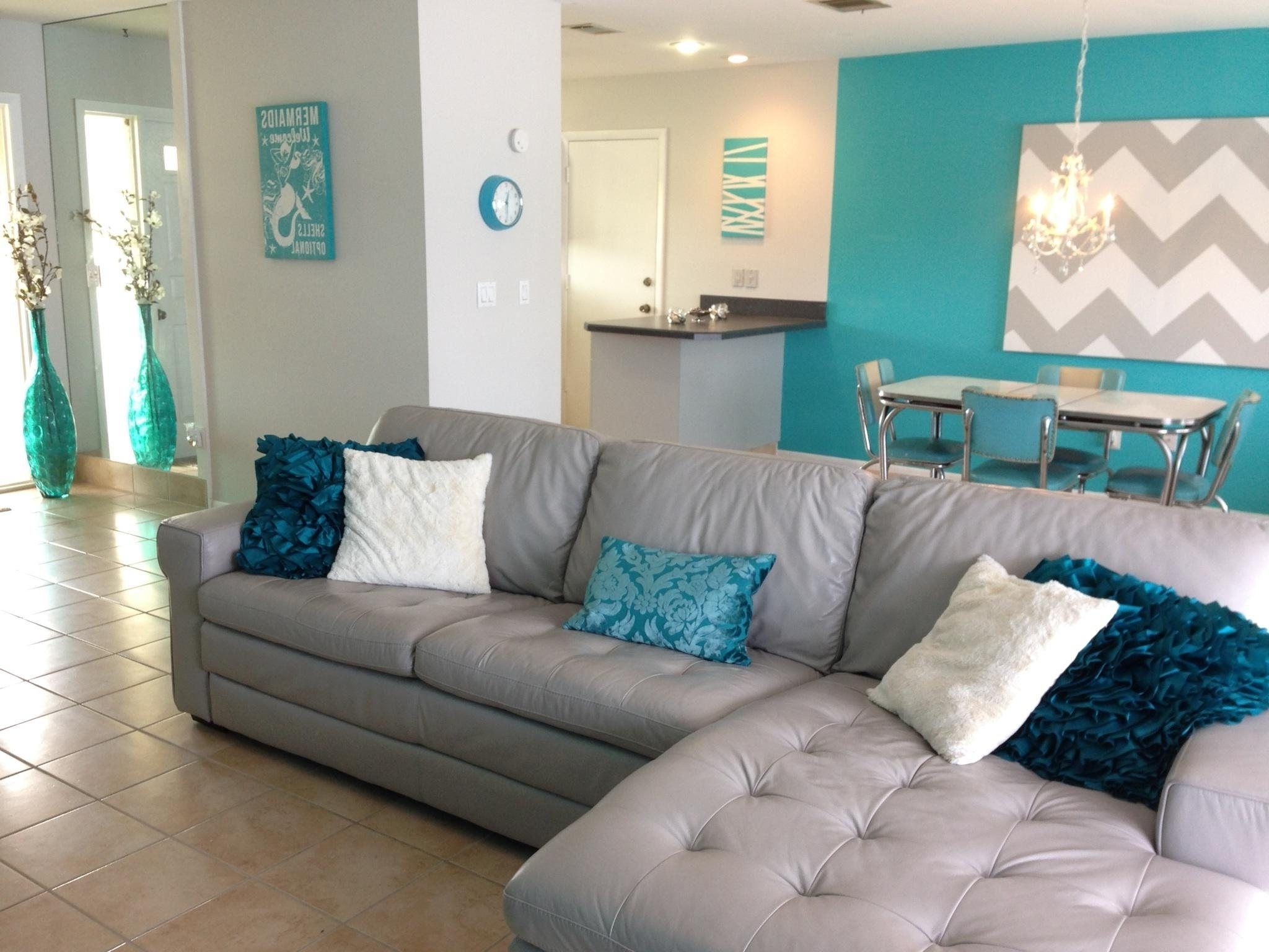 yellow turquoise and grey living room  teal living rooms