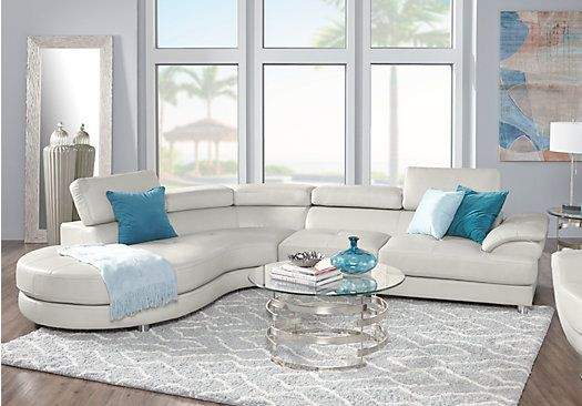 Sofia Vergara Cassinella Stone 5 Pc Sectional Living Room In 2019