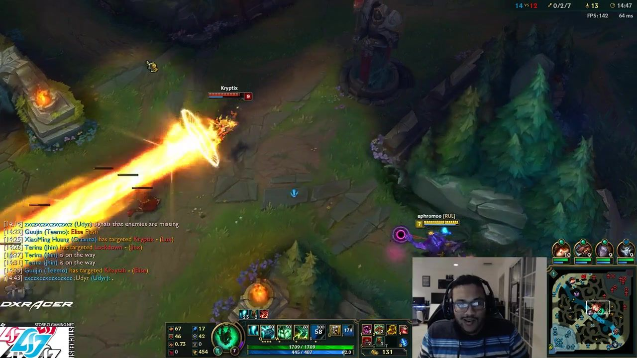 Aphromoo shows where all solo queue players dodge. https://clips.twitch.tv/aphromoo/HandsomeCormorantFuzzyOtterOO #games #LeagueOfLegends #esports #lol #riot #Worlds #gaming