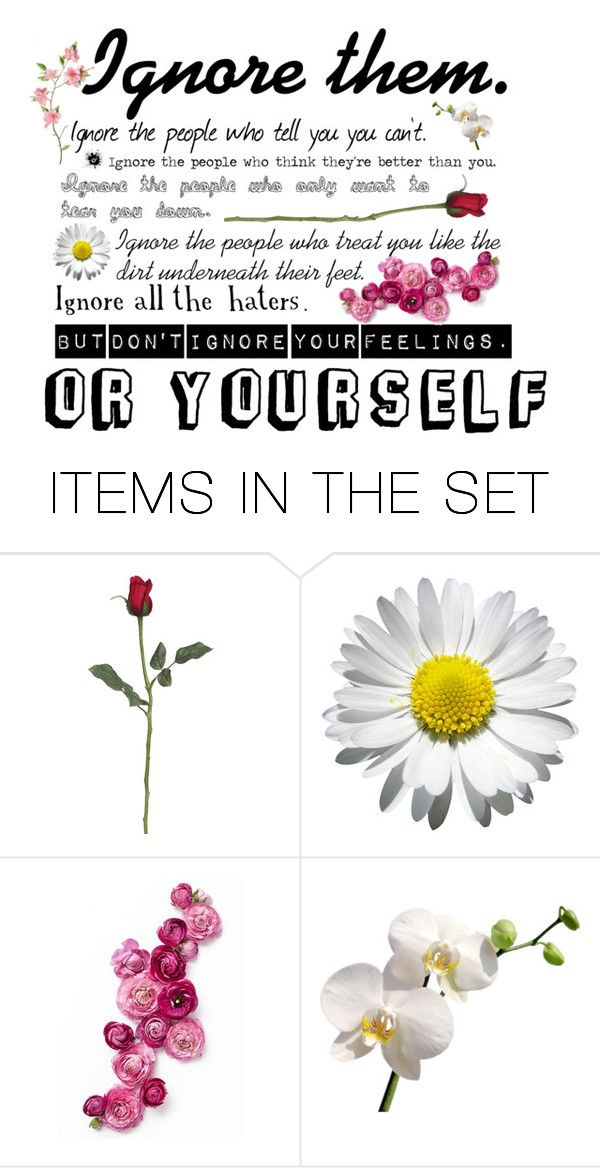 """Ignore them but not Yourself."" by kate-reads on Polyvore featuring art"