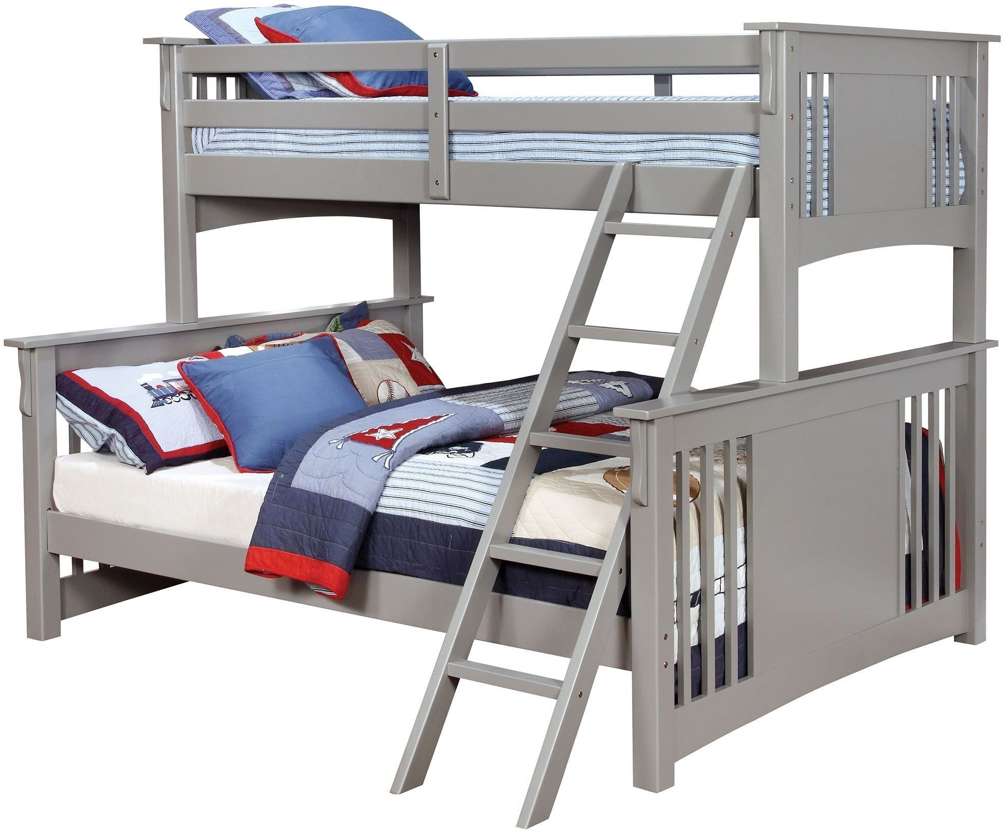 Spring Creek Gray Twin Xl Over Queen Bunk Bed Future Tot S In