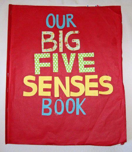 free printable five senses book