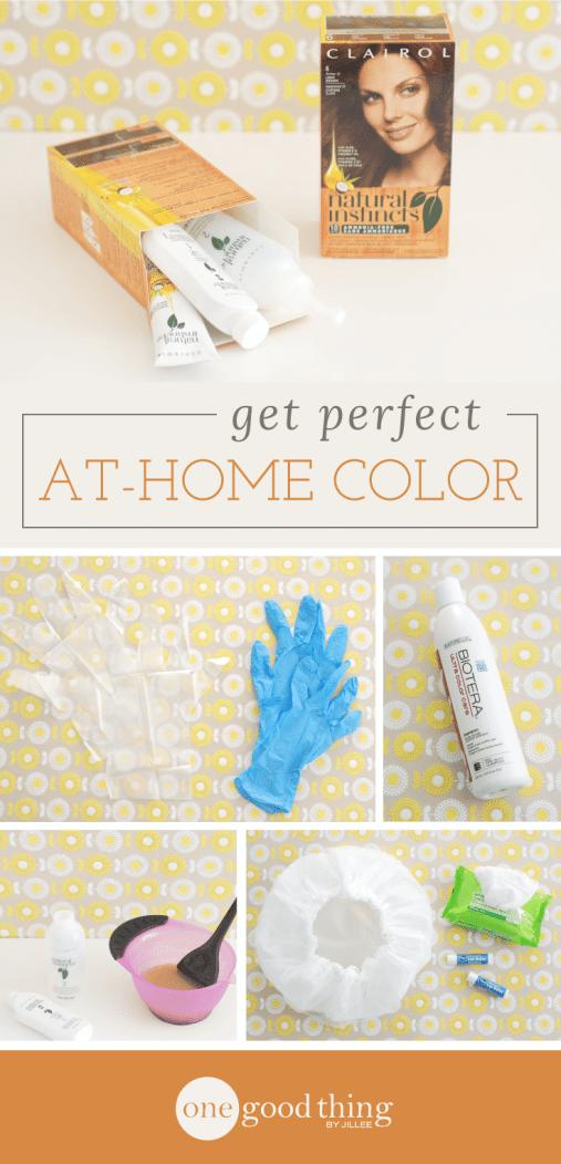 Hair-Dyeing Hacks for Perfect At-Home Color - One Good Thing by JilleePinterestFacebookPinterestFacebookPrintFriendly
