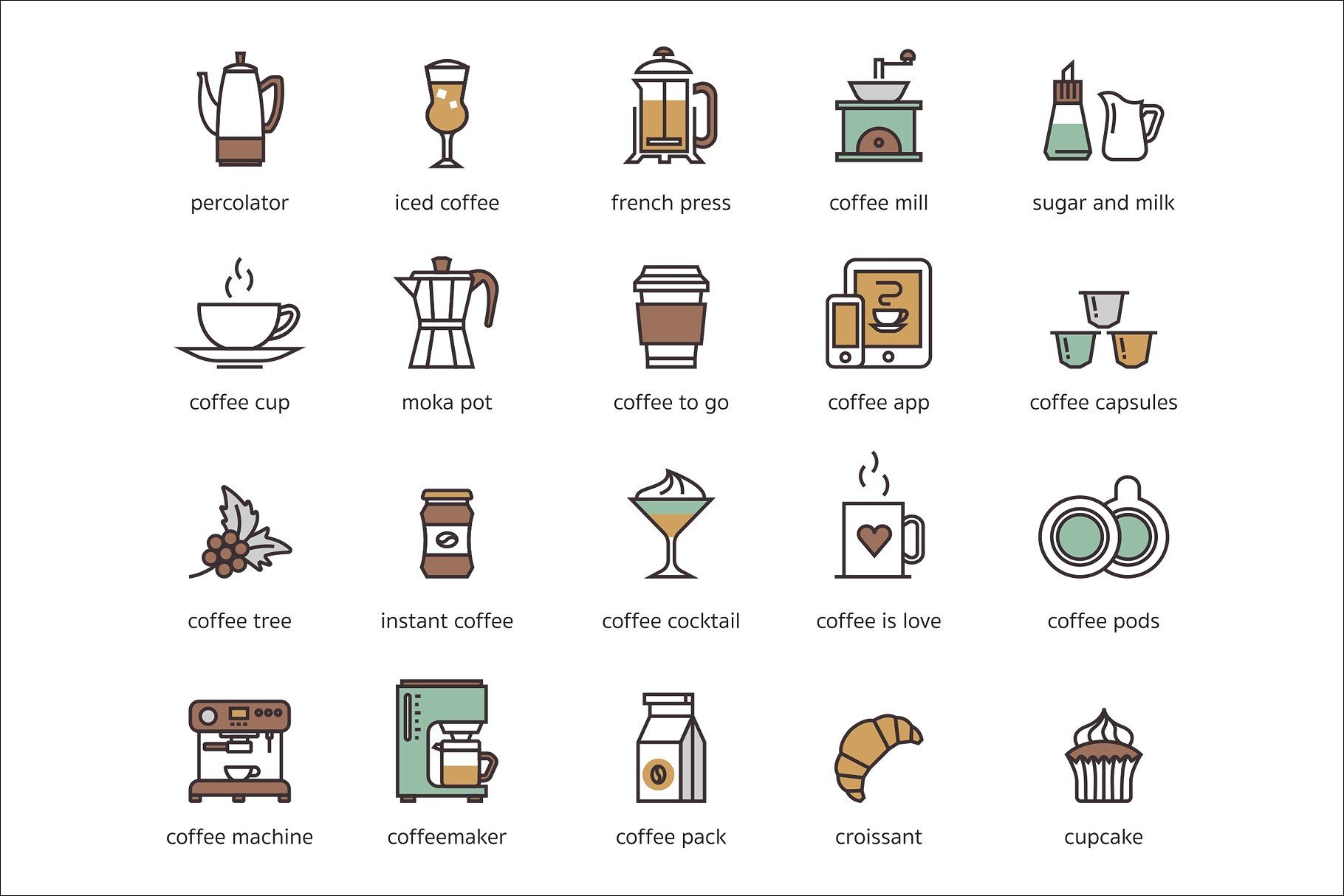 73 Coffee Icons icon, flaticon, icons, icon pack, icon pack