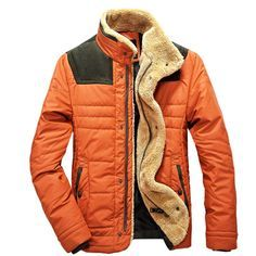Fashion Mens Warm winter Jacket Vintage Outerwear Hipster ...