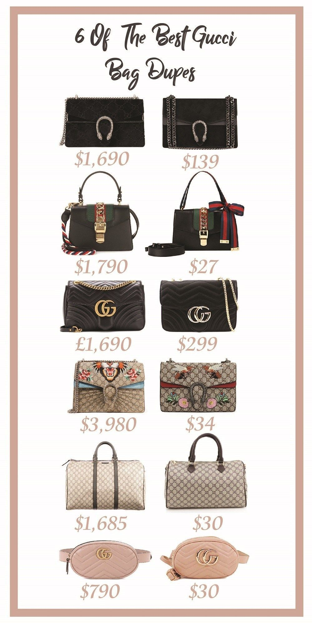 6 Of The Best Gucci Bag Dupes gucciovertheshoulderbag