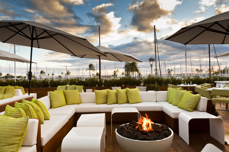 Say Aloha To The Modern Honolulu Hotel A Minimalist Hawaiian Haven With Two Pools Four Bars Cool Nightclub And Restaurant From Top Chef Masaharu
