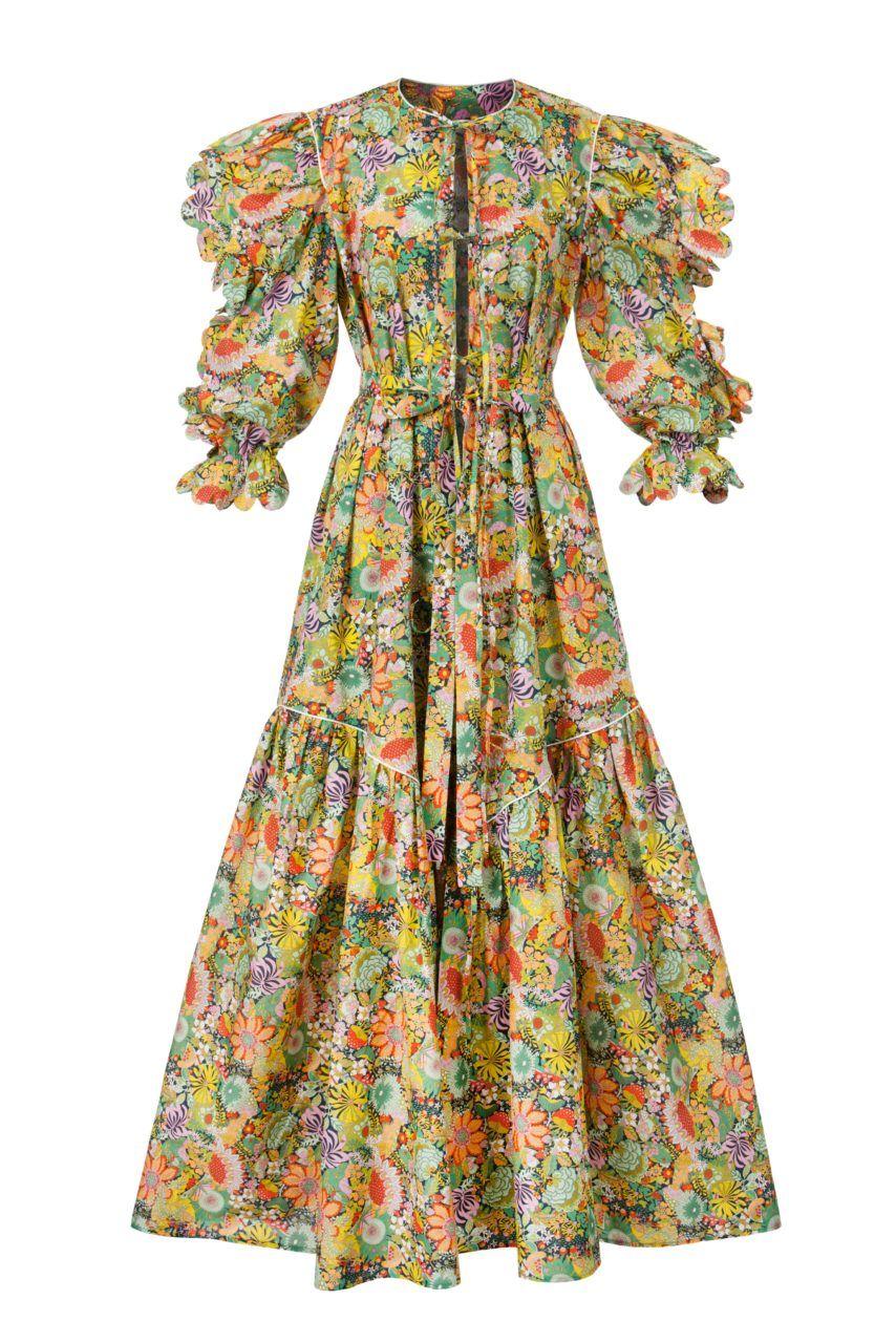 New in custia scallopedge cotton dress love the look pinterest