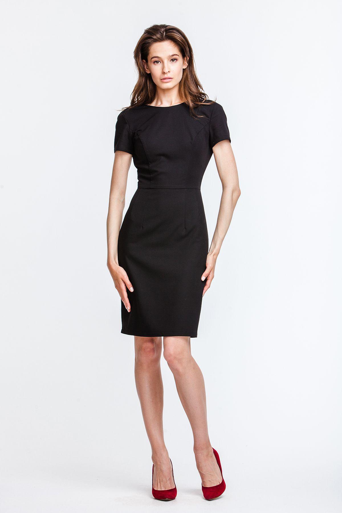 7f122133c9b 2619 Платье черное