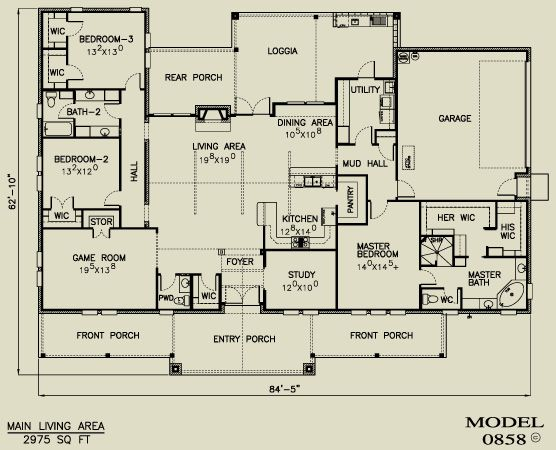 Texas Home Plans Country House Plans New House Plans Texas Hill Country House Plans