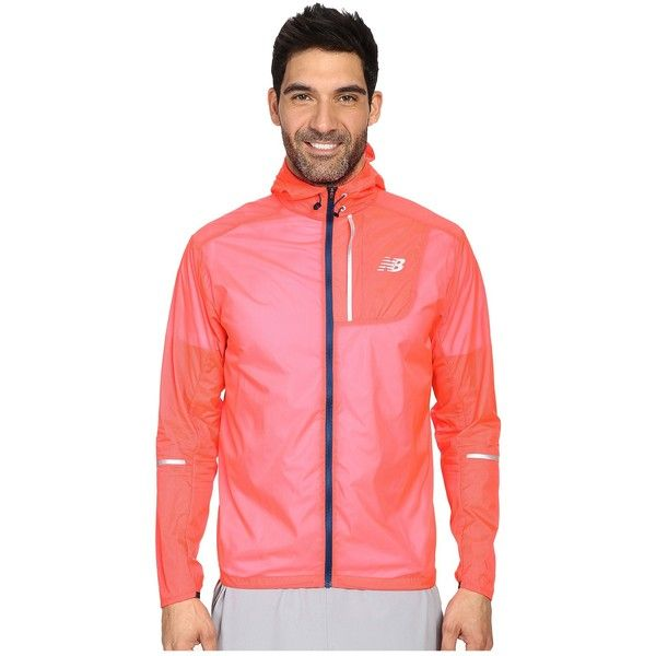 bästa kvalitet bra kvalitet kolla upp New Balance Lite Packable Jacket (Bright Cherry) Men's Coat ($85 ...