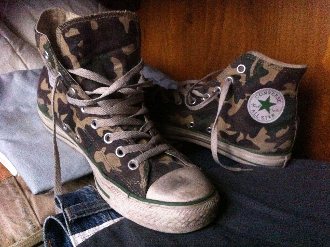 all star converse militare