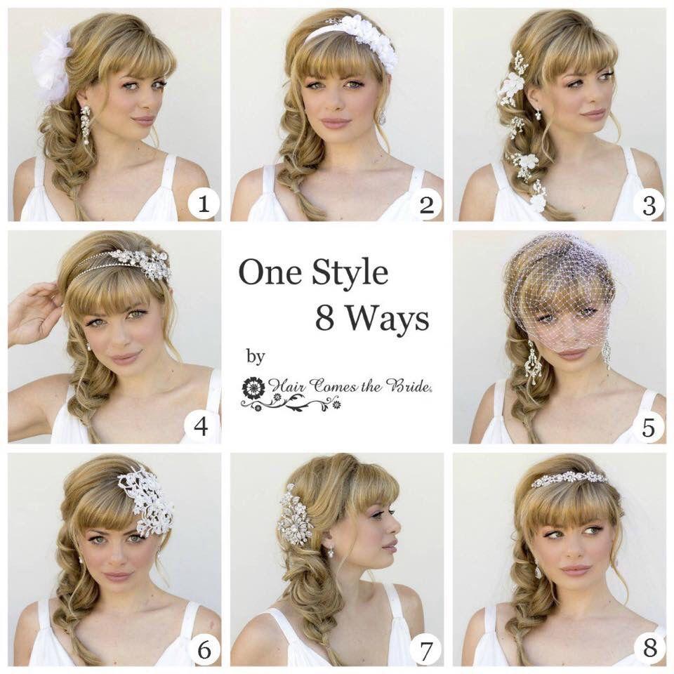 One style 8 ways | Fashion-- Hair Styles | Pinterest | Hair style