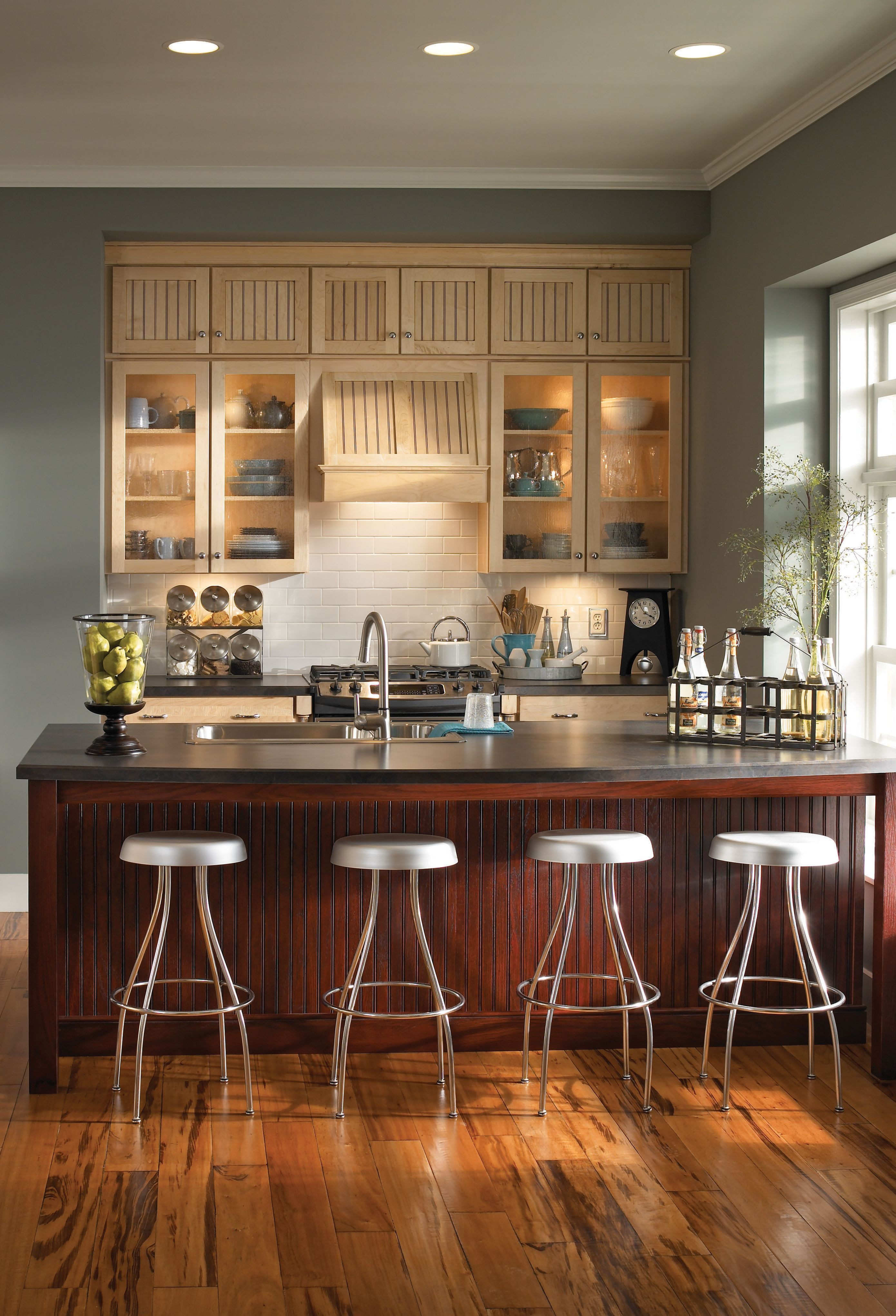 Medallion At Menards Cabinets Kitchen And Bath Cabinetry Provence Kitchen Kitchen Renovation Inspiration Kitchen Inspirations
