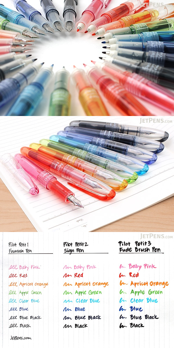 This Colorful Array Of Pilot S Petit Mini Pens Offers You Versatility Portability And Most Importantly Fu Schulorganisation Notizen Schulorganisation Schule