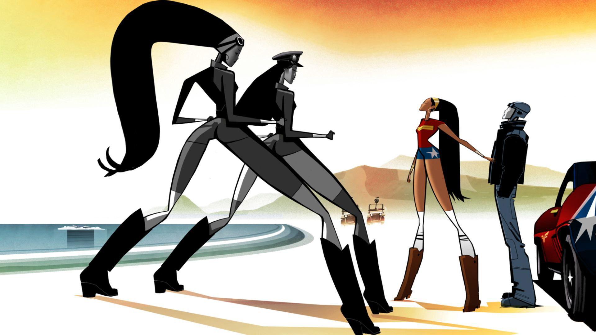 wonder woman profile animation Google keresés Wonder
