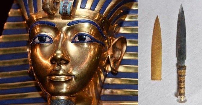 Dao găm của Pha-ra-ông Tutankhamun đã được rèn từ thiên thạch