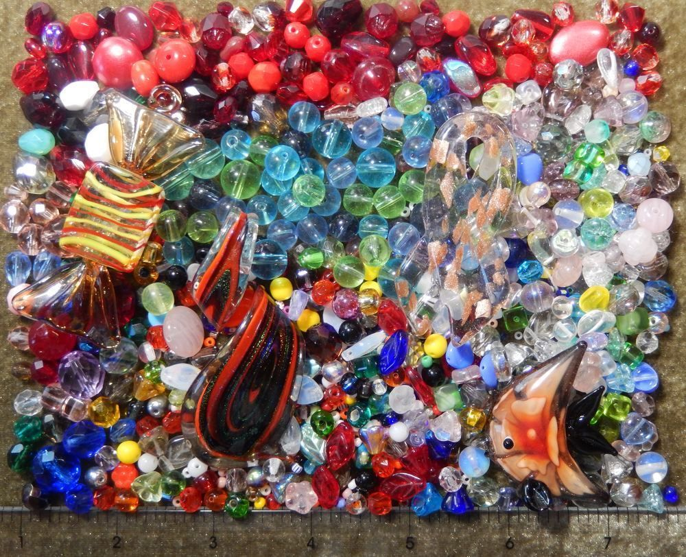 bulk beads buy itm quarter fast pound glass lot mixed wholesale us assorted shipping in
