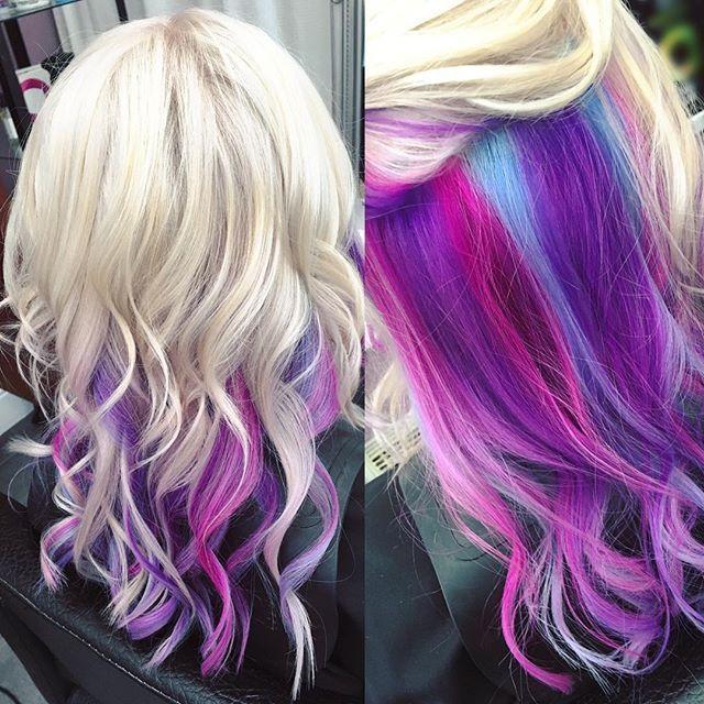 31 Pink And Purple Hair Looks Mermaid Hair Color Pink Blonde Hair Purple Blonde Hair