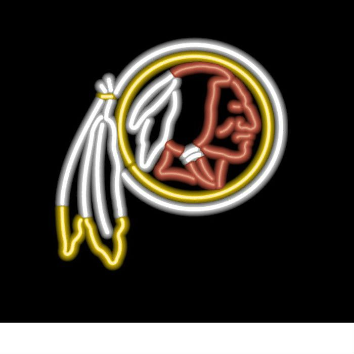 Washington redskins neon sign at sportsfansplus i love my start tab description the authentic washington redskins nfl neon sign will be the crown jewel of any serious fan caver this neon sign is as big and as aloadofball Image collections