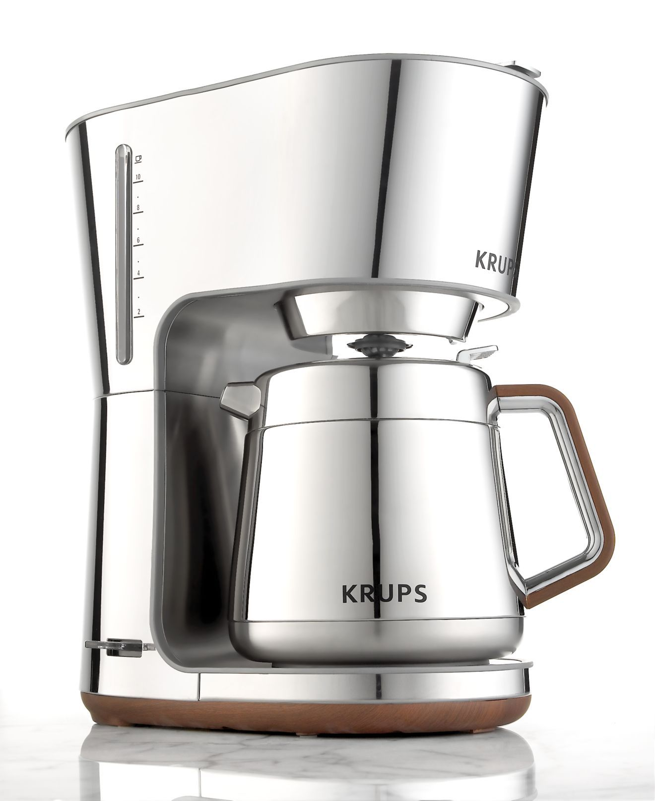 krups kt600 coffee machine silver art 10 cup the most. Black Bedroom Furniture Sets. Home Design Ideas