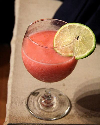 Raspberry and key lime margaritas #limemargarita
