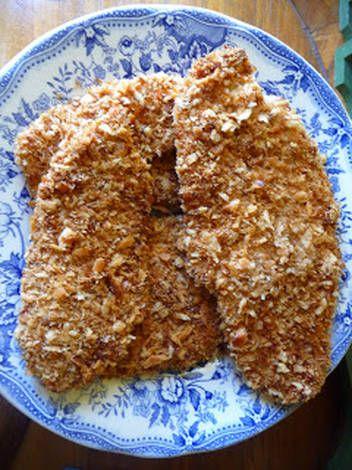 Pollo katsu, pollo crujiente al horno con panko Receta de 🍏 La Cocinera Novata