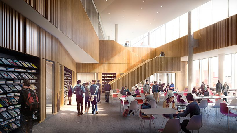 Snohetta Reveals New Images Of Temple University Library As