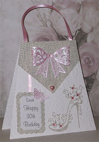 Personalised Handmade Birthday Card 18th 21st 30th 40th 50th 60th Etc