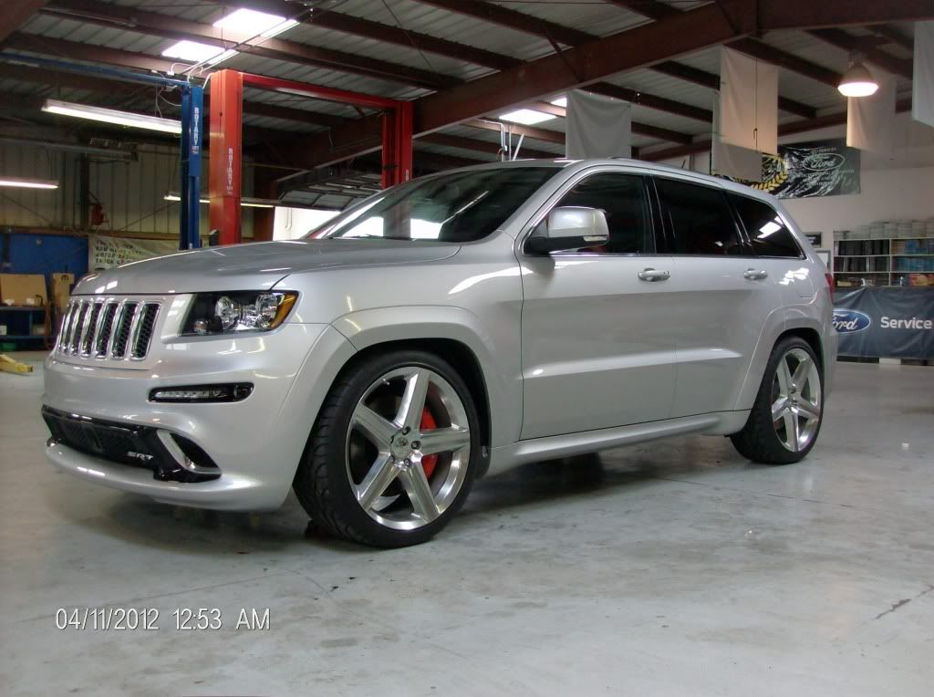 First 2012 SRT8 Jeep Lowered 2FRONT 3REAR  Cherokee SRT8 Forum