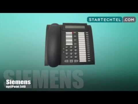 How To Program Station Speed Dial Numbers On The Siemens optiPoint