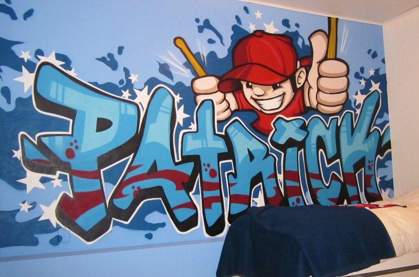 Styletrip Graffiti | Voertuigen | Muurschilderingen | Kinderkamers ...