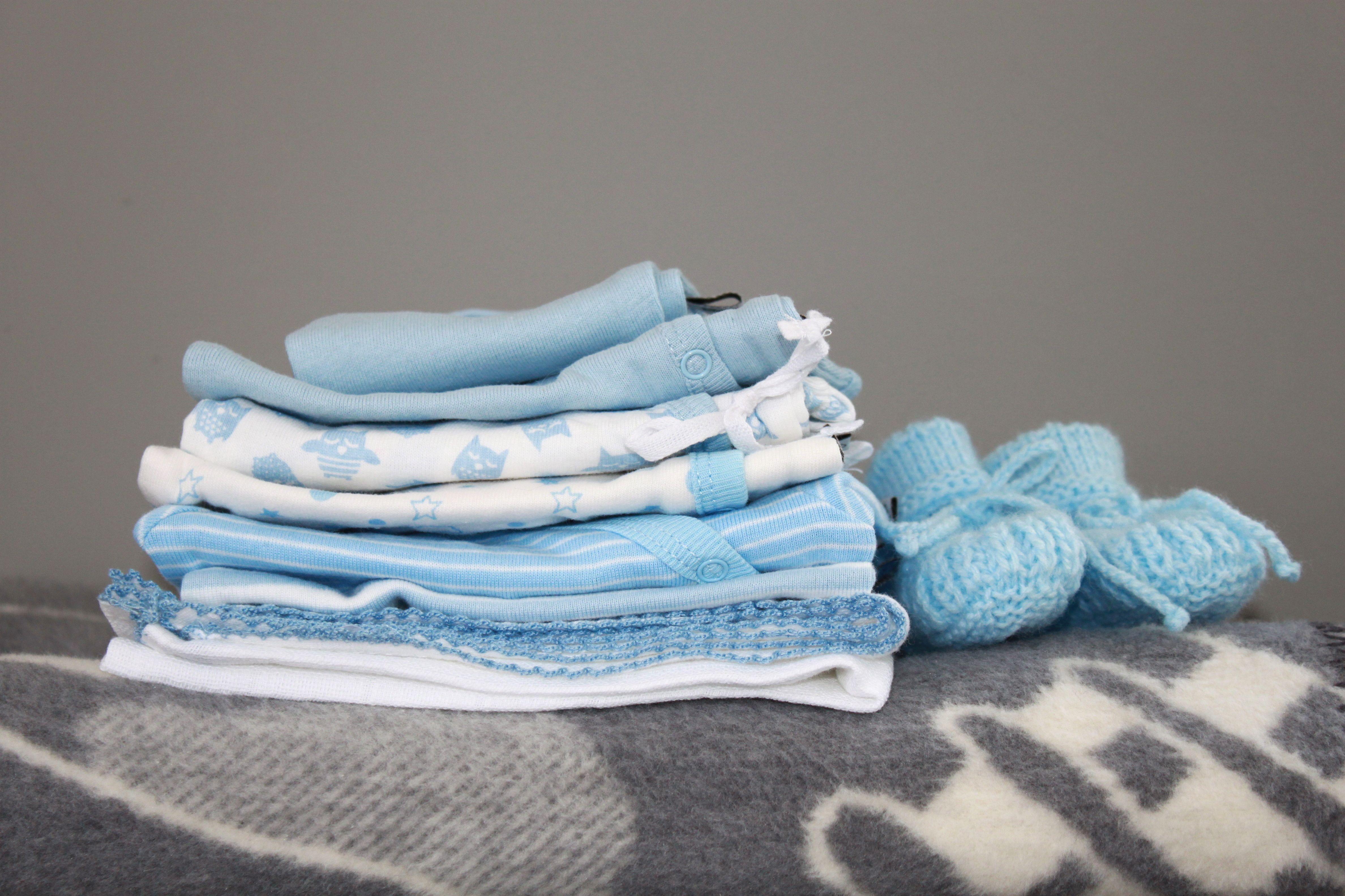Premature baby blue super cute