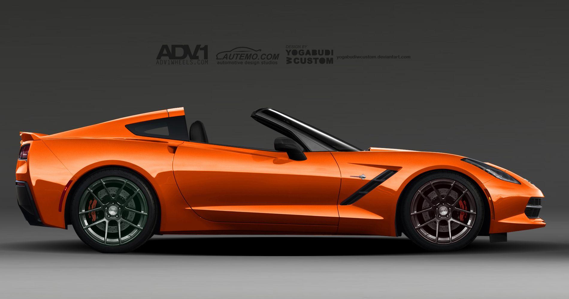 Corvette stingray c7 targa by yogabudiwcustom deviantart com on deviantart