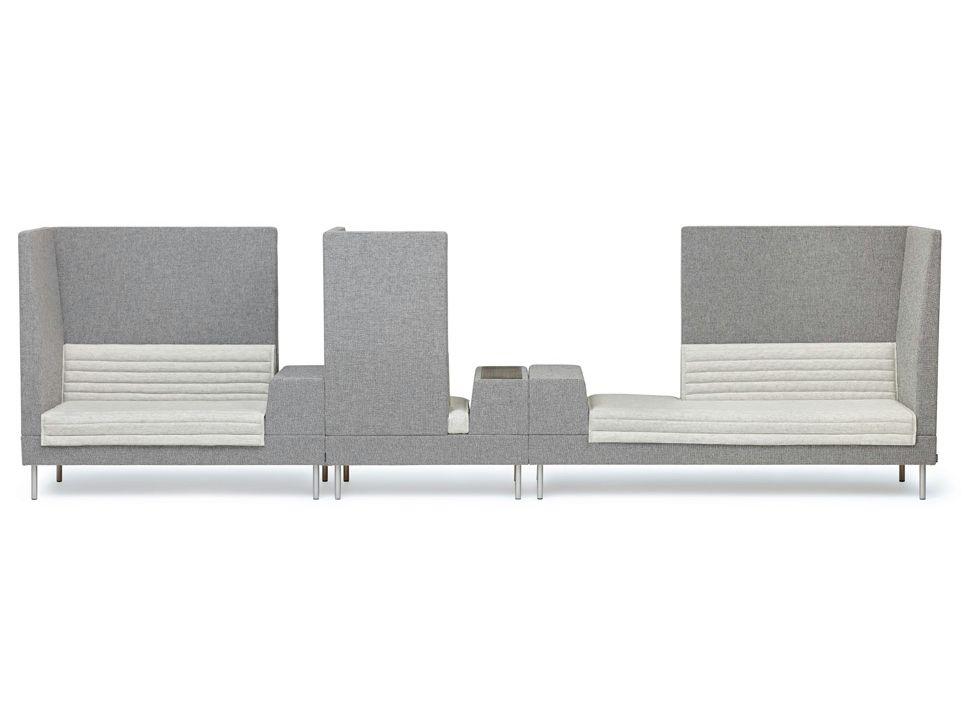 Modulares Sofa Mit Integriertem Zeitungsständer SMALLROOM By Offecct    Design Ineke Hans