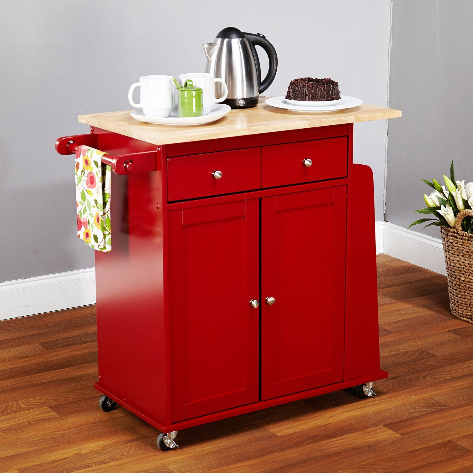 Target marketing systems sonoma kitchen cart smart storage and locking casters make the target market sonoma kitchen cart an essential part of your