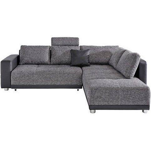 Canape D Angle Meridienne Droite Et Convertible En Tissu Et Aspect Cuir 3suisses My Furniture Home Decor Furniture