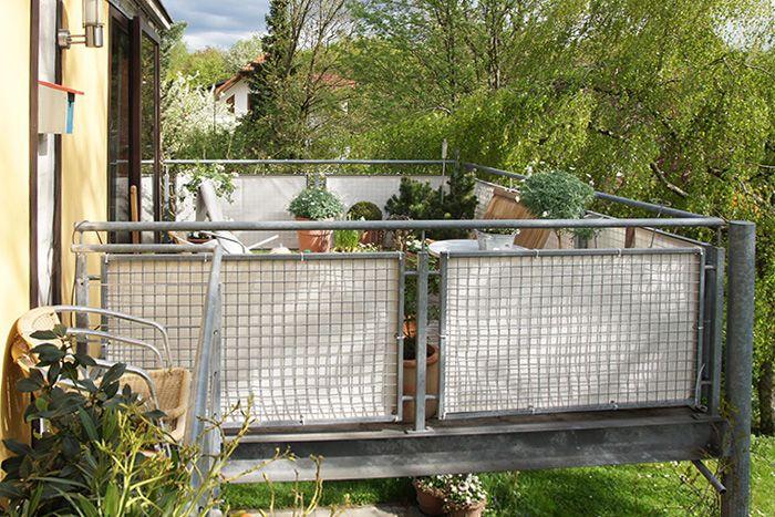 Balkonbespannung Balkon Living Entspannter Wohnen Macht Euren