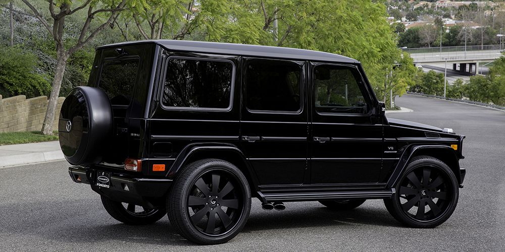 Black mercedes benz g wagon mercedes benz suv and unimog for Mercedes benz jeep g class