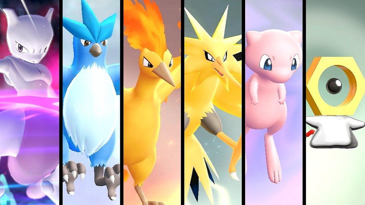 How To Get All Legendary Pokémon In Pokémon Let S Go Pikachu Eevee Pokemon All Legendary Pokemon Rare Pokemon Cards