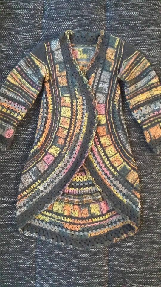Kreisjacke Kleidung Knitt