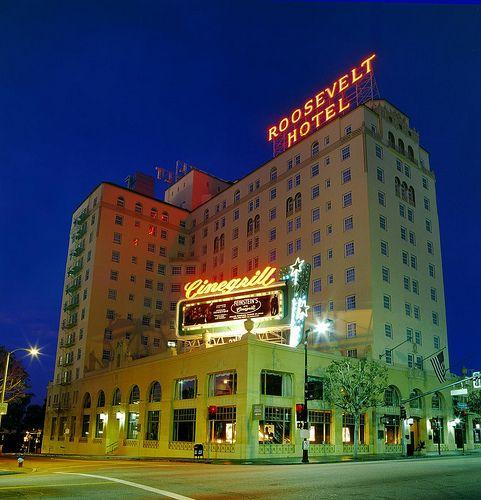 Hollywood Roosevelt Hotel Exterior Hotel Exterior Roosevelt