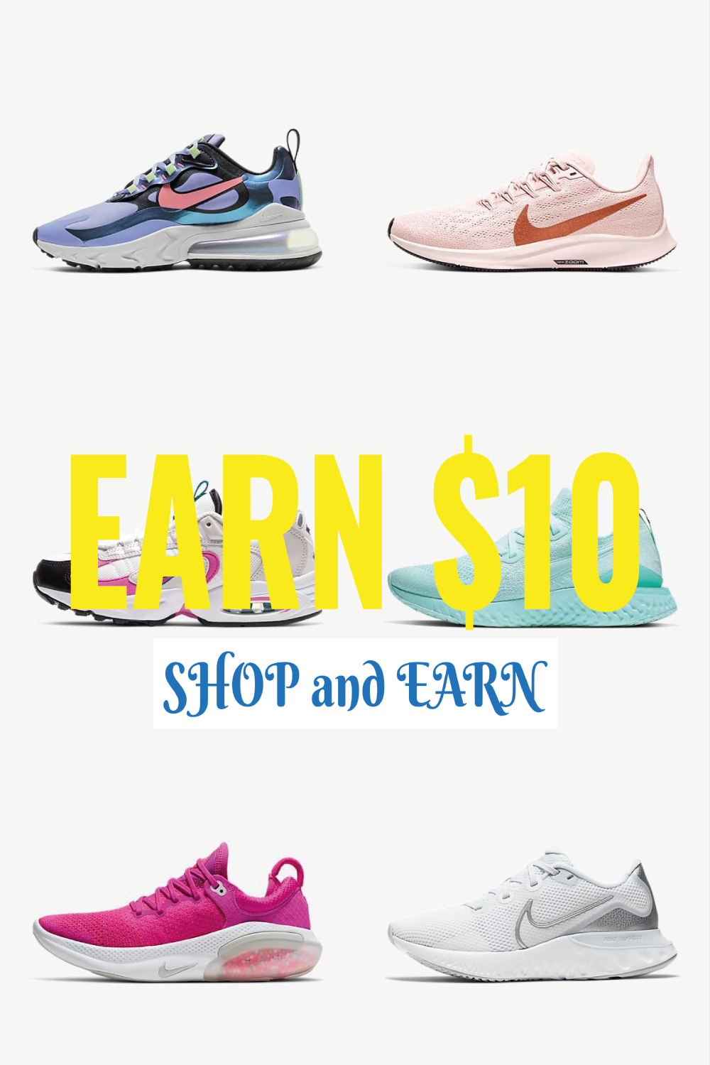 Who knew you could earn by shopping? Follow the link now to get rewarded! #cashbackapps #cashbackappsmakemoney #cashbackoffer #cashbackads #cashbackpromotion #promocodes #codesforfreestuff #promocodescoupon #promogirls #nikeshoes #trendyshoes #fashionshoes #cuteshoes #sneakers #shoesforwomen