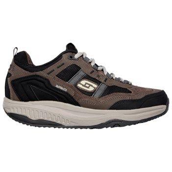Skechers Men's Shape Ups XT Premium Comfort Memory Foam Walking Shoes (Brown /Black)