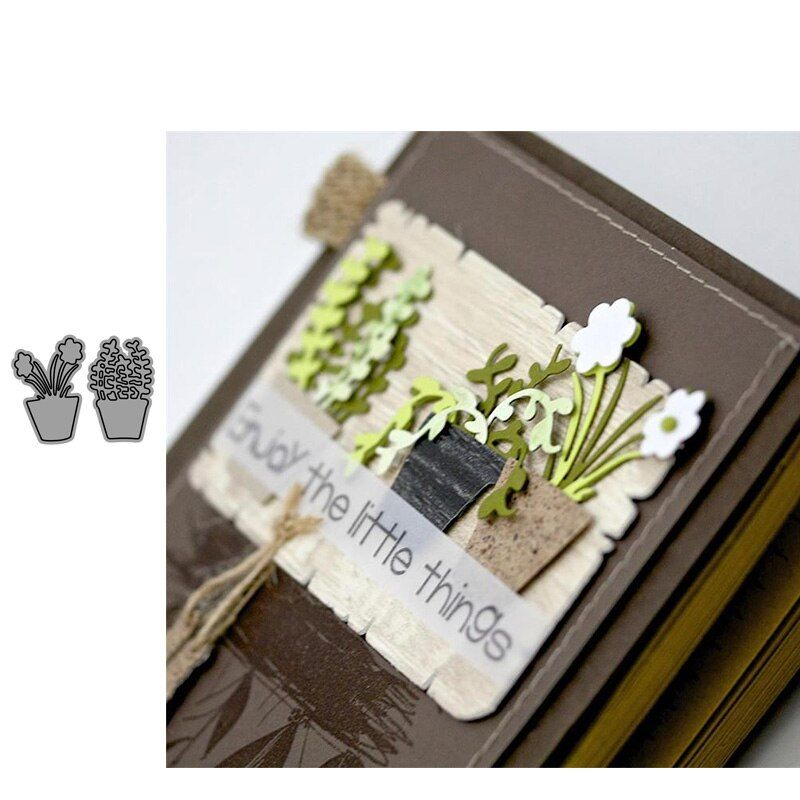 Flasche Metall Cutting Dies Stencil DIY Scrapbooking Dekoration Karten Handwerk