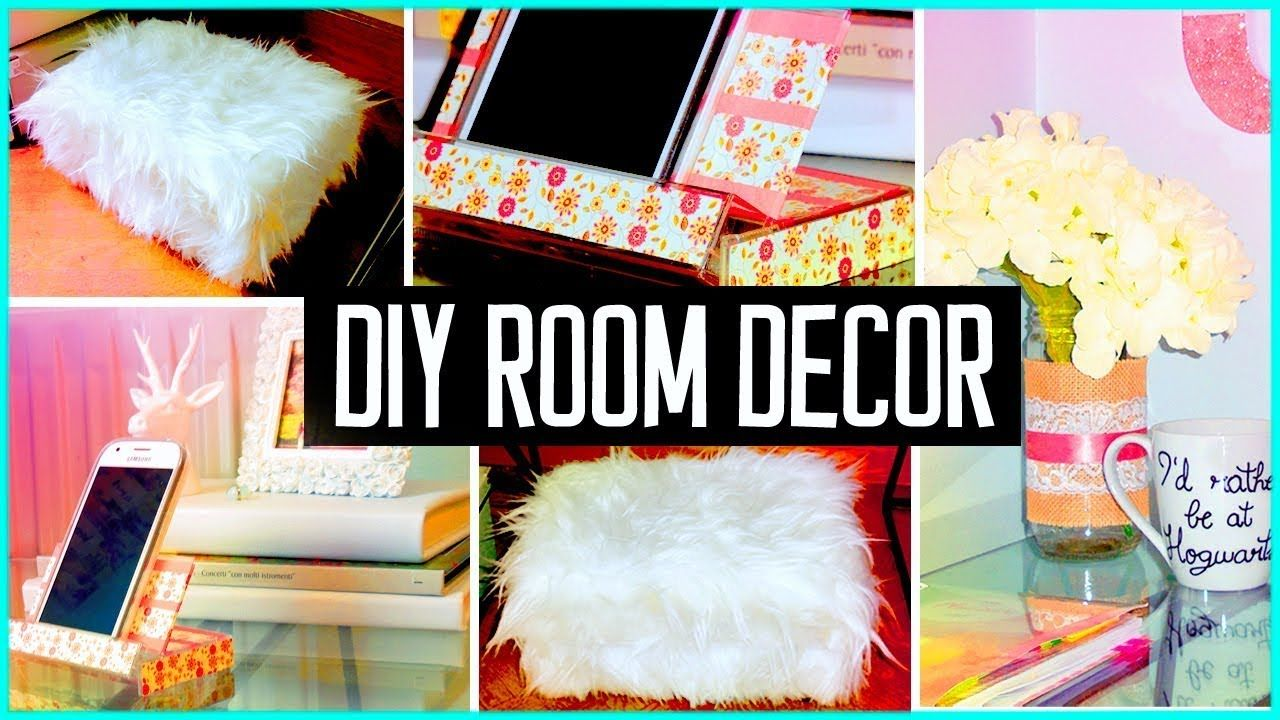 DIY ROOM DECOR For Girls Girls Watch The Designs DIY ROOM DECOR! 28 Easy  Crafts