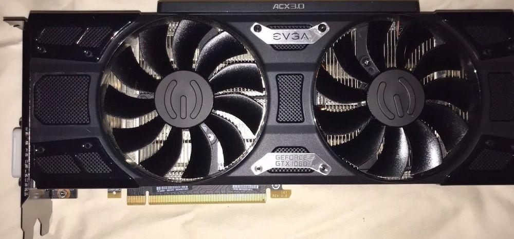 EVGA GTX 1060 FTW+ 6GB DDR5 - Dual Fan - VR Ready  Perfect