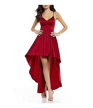B darlin long dresses plus